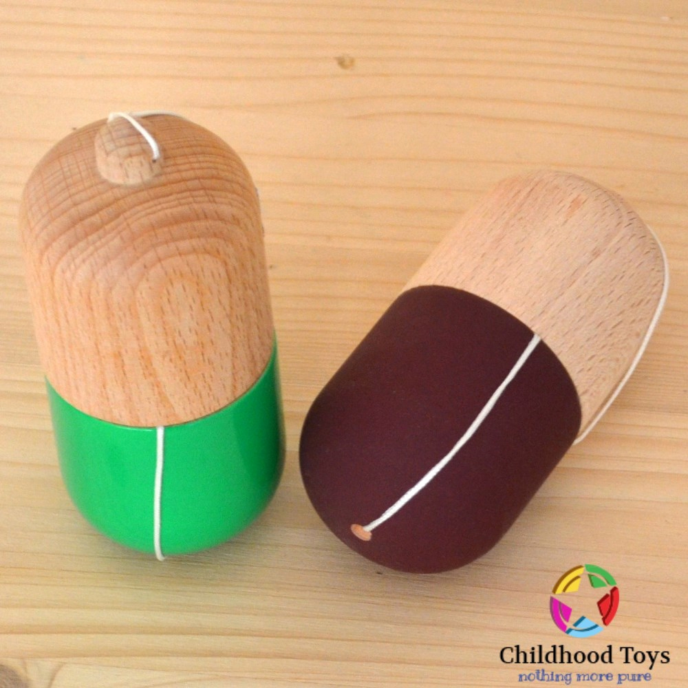 how to make a pill kendama