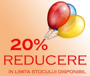 20% Reducere la jucarii din lemn Childhood Toys