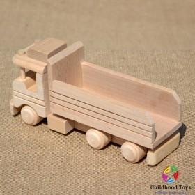 Camion din lemn basculanta