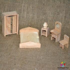 Mobilier lemn, dormitor M2