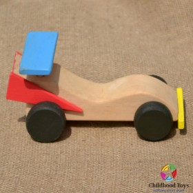 Masina din lemn de curse F1