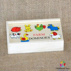 Domino lemn Animale Domestice
