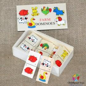 Domino lemn Animale Domestice