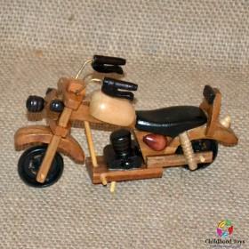 Motocicleta din lemn tip 2