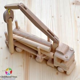 Camion lemn transport busteni