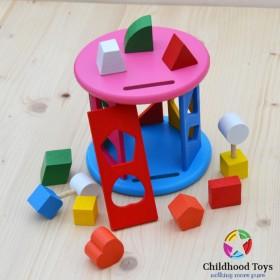 Jucarie sortator cu forme geometrice