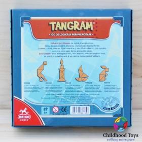 Puzzle lemn Tangram 1