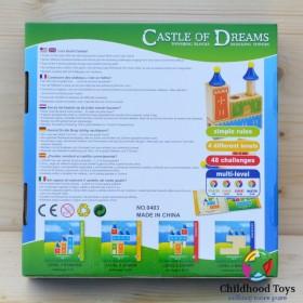 Joc logic Castel lemn
