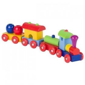 Tren lemn Peru 3