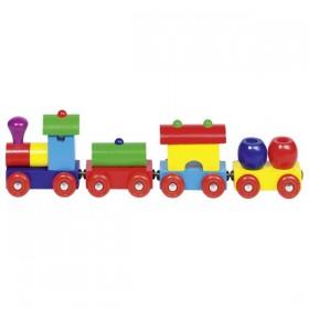 Tren lemn Peru 2
