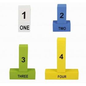 Joc educativ cu bete de numarat 5