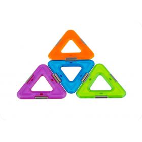 Set constructie 3D Magspace 10 piese Triangle Set Rezerve Magnetice 2