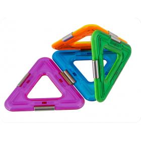 Set constructie 3D Magspace 10 piese Triangle Set Rezerve Magnetice 3