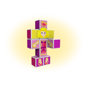 Set magnetic Magicube Princess 2