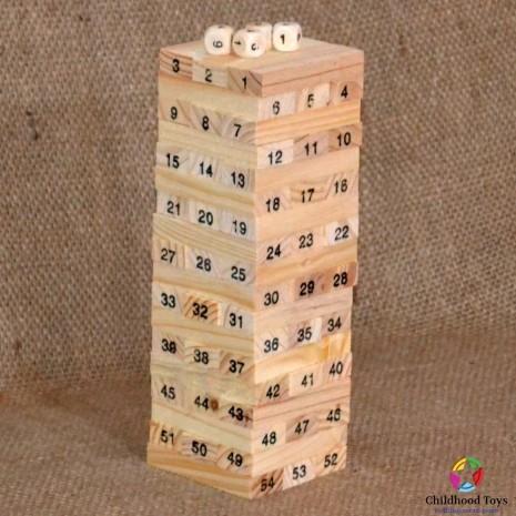 Jucarie din lemn Jenga Classic